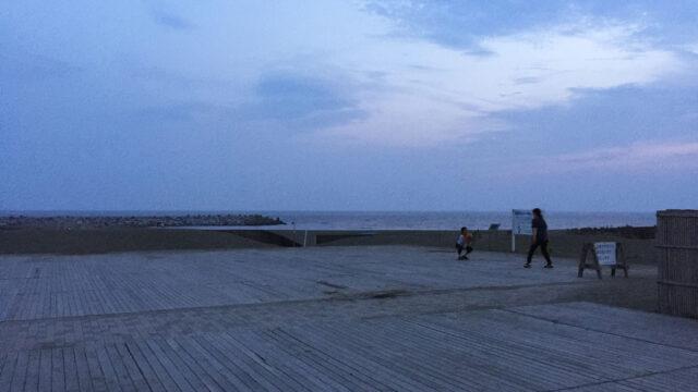 湘南の海も眺めてきました。 / 竜神の湯 湘南茅ヶ崎店