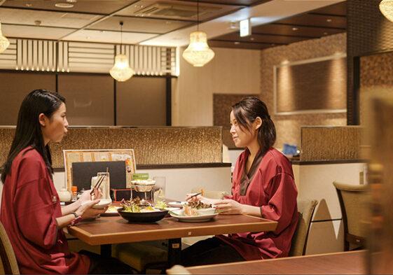 お食事処の様子(竜泉寺の湯公式HPより) / 竜神の湯 湘南茅ヶ崎店