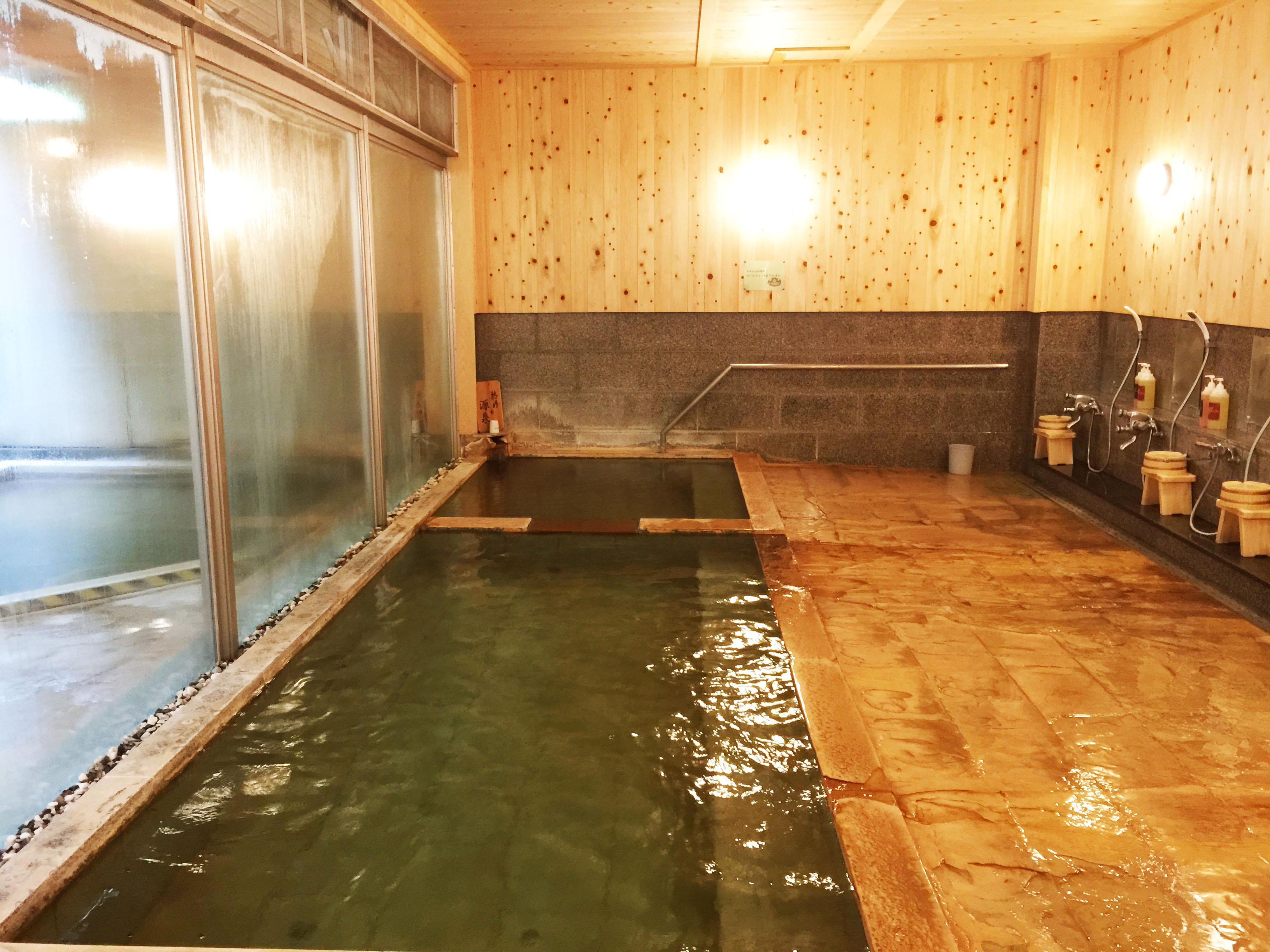 新鹿沢温泉 鹿鳴館_内風呂