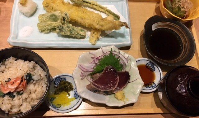 天然温泉 テルマー湯_天ぷら定食