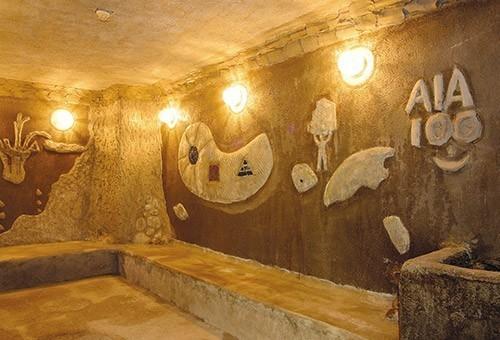 志楽の湯_海底洞窟蒸し風呂(女湯)