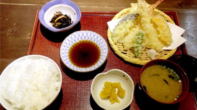 志楽の湯_天ぷら定食