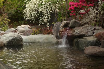 岩風呂(花湯公式HPより) / 花湯スパリゾート