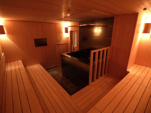 フィンランド式サウナ(ユーラシア公式HPより) / スパ&ホテル ユーラシア