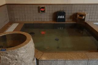 くりひら温泉サウナ水風呂
