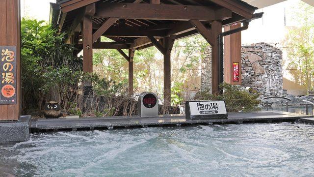 竜泉寺の湯泡の湯