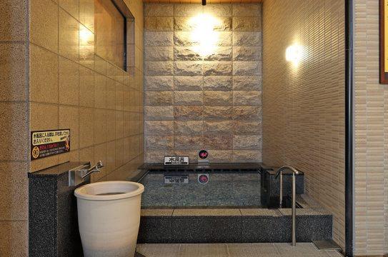 竜泉寺の湯水風呂