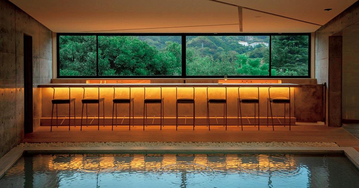 湯河原に、建築と景観を楽しむ温泉宿が誕生。 | カーサ ブルータス Casa BRUTUS