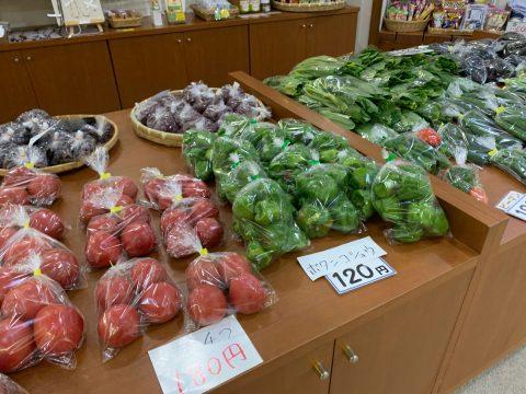 つつじの湯 野菜