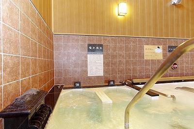 極楽湯上尾 電気風呂