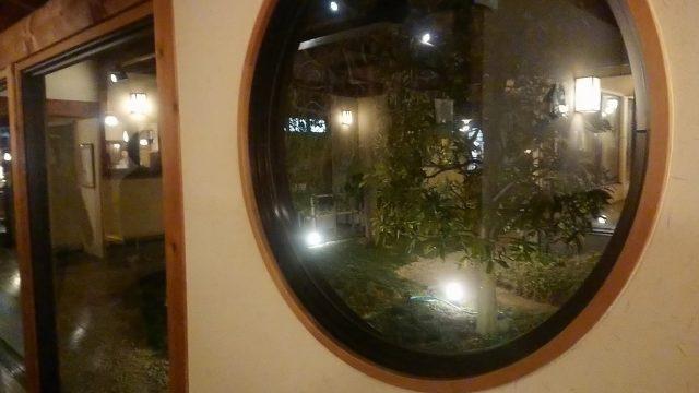 清河寺温泉 廊下の窓