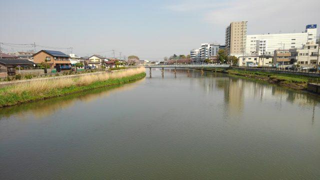 湯楽の里春日部 古利根川