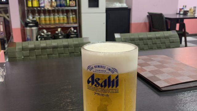 男気ビールはおすすめ。居酒屋スタイルの食事処。