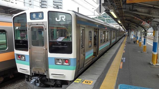 相模湖温泉うるり_高尾からのローカル電車