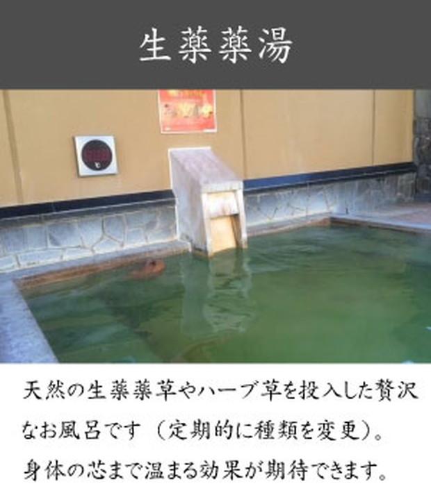 薬湯風呂:湯の郷HPより
