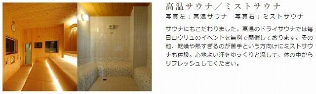 東京・湯河原温泉万葉の湯_サウナ