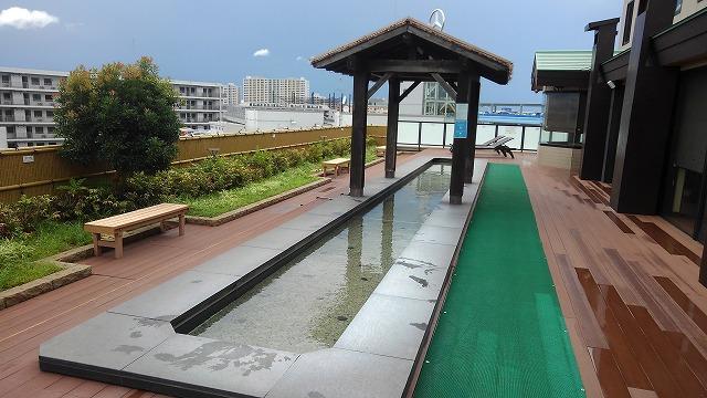 東京・湯河原温泉万葉の湯_天空の足湯