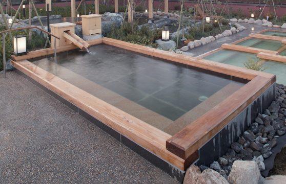極楽湯 羽生 桧風呂