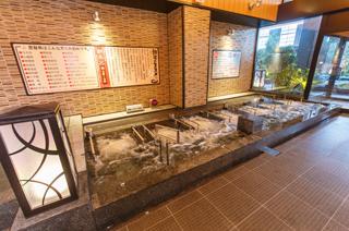 龍泉寺の湯 草加 ジェットバス