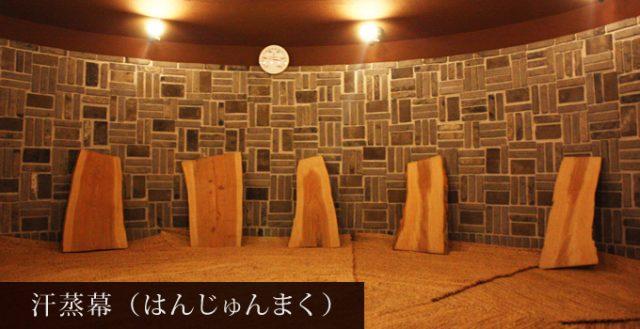 龍泉寺の湯 草加 汗蒸幕