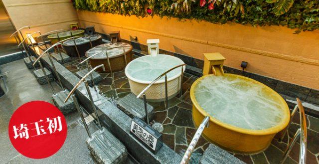 龍泉寺の湯 草加 美泡の壺