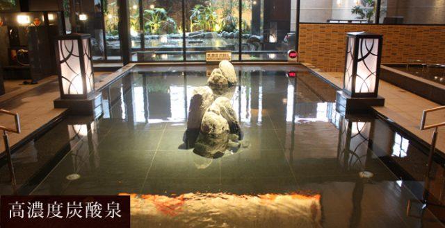 龍泉寺の湯 草加 高濃度炭酸泉