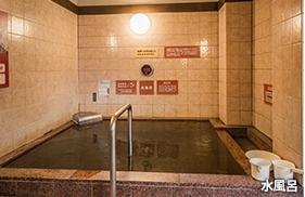 北本温泉 湯楽の里  水風呂