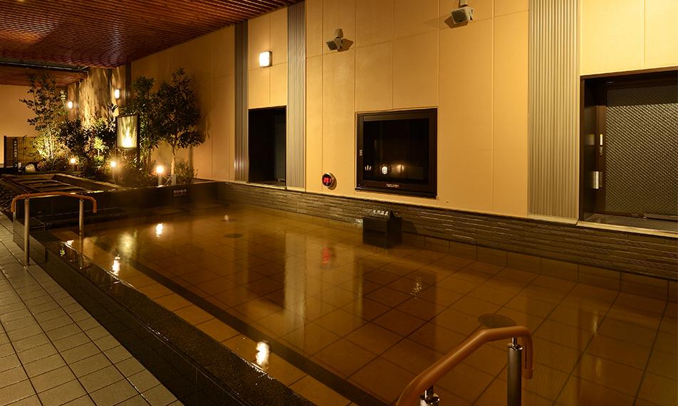 センター南温泉 湯もみの里 露天風呂