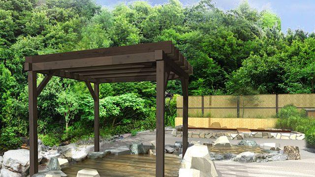 森乃彩 源泉かけ流しの4種類の露天風呂