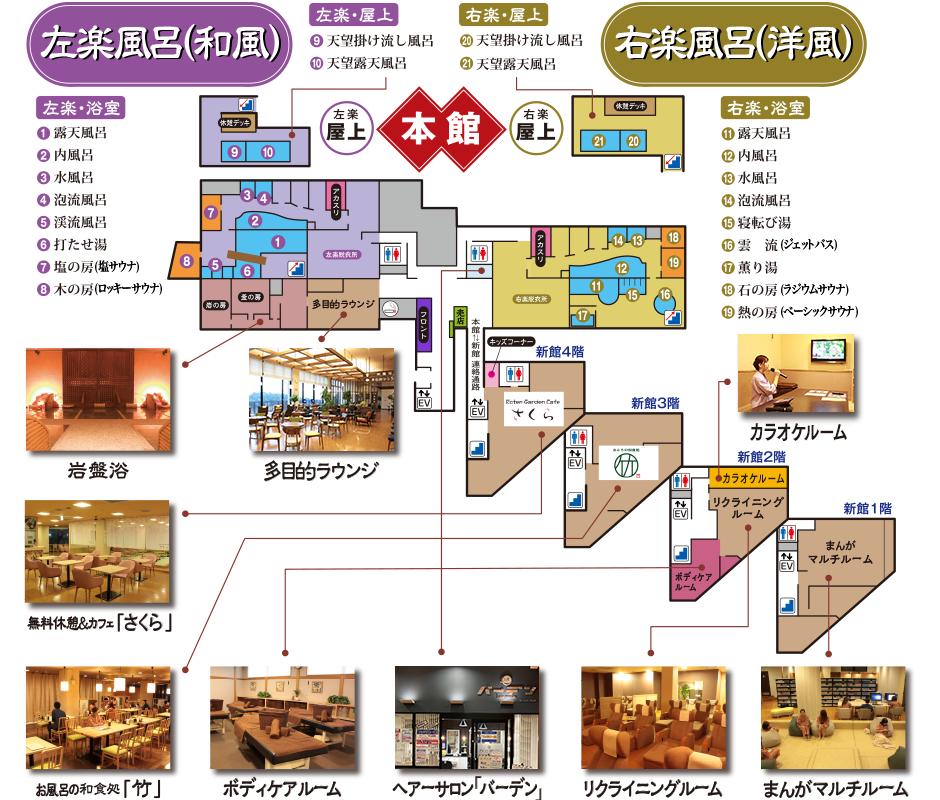 ロテン・ガーデン_館内ガイド