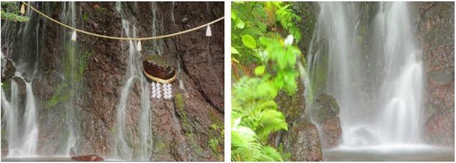 箱根湯本温泉天成園_玉簾の瀧と飛烟の滝