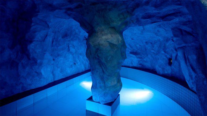 印西市・青の洞窟風呂