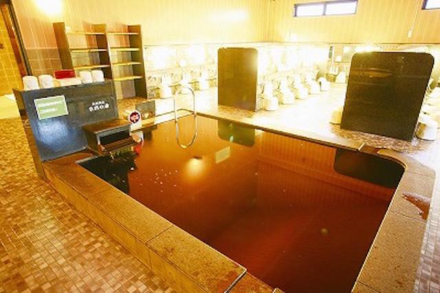 極楽湯 横浜芹が谷店 自然の湯