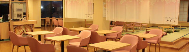 ロテン・ガーデン_無料無料休憩&カフェ「さくら」