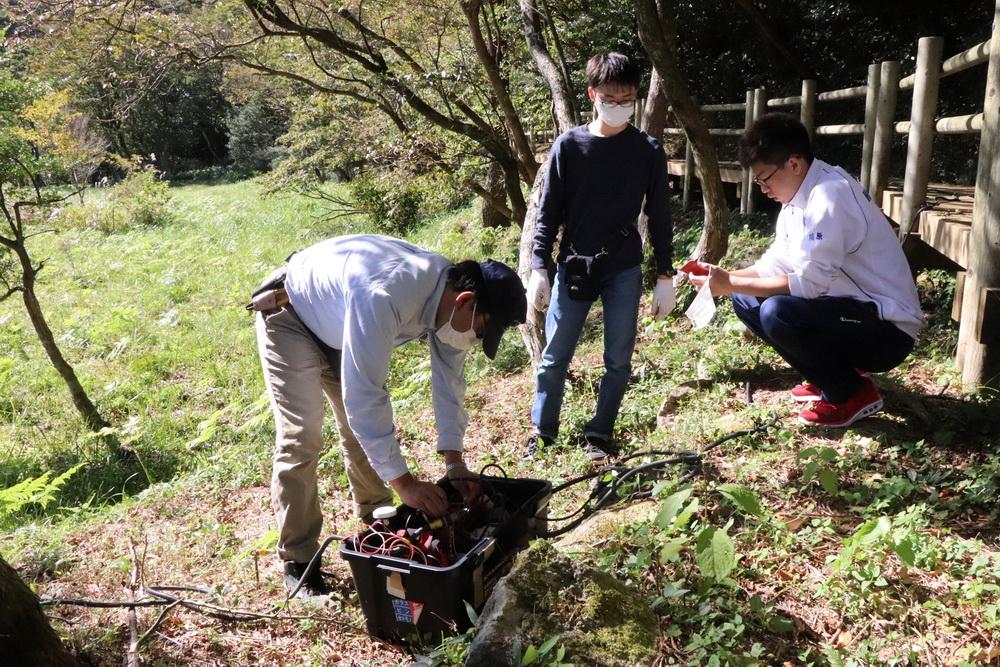 雲仙温泉の地下調査 源泉の把握、地熱発電抑制へ