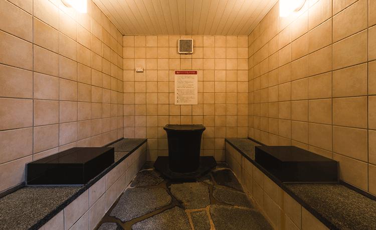 天然温泉 満天の湯 スチーム塩サウナ