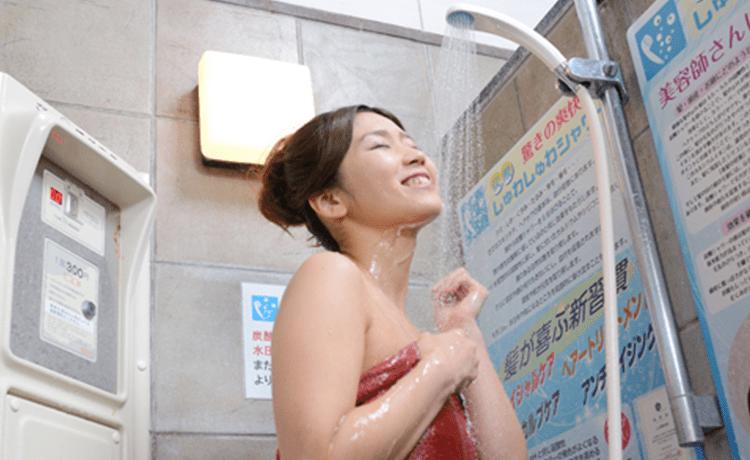 天然温泉 満天の湯 炭酸シャワー