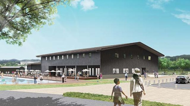 金田一温泉 新施設22年開業へ 当初計画より規模縮小   岩手日報 IWATE NIPPO