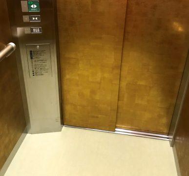 新千歳空港温泉_エレベーター