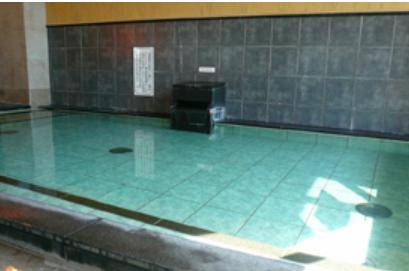 白湯風呂(内湯) ※天然温泉
