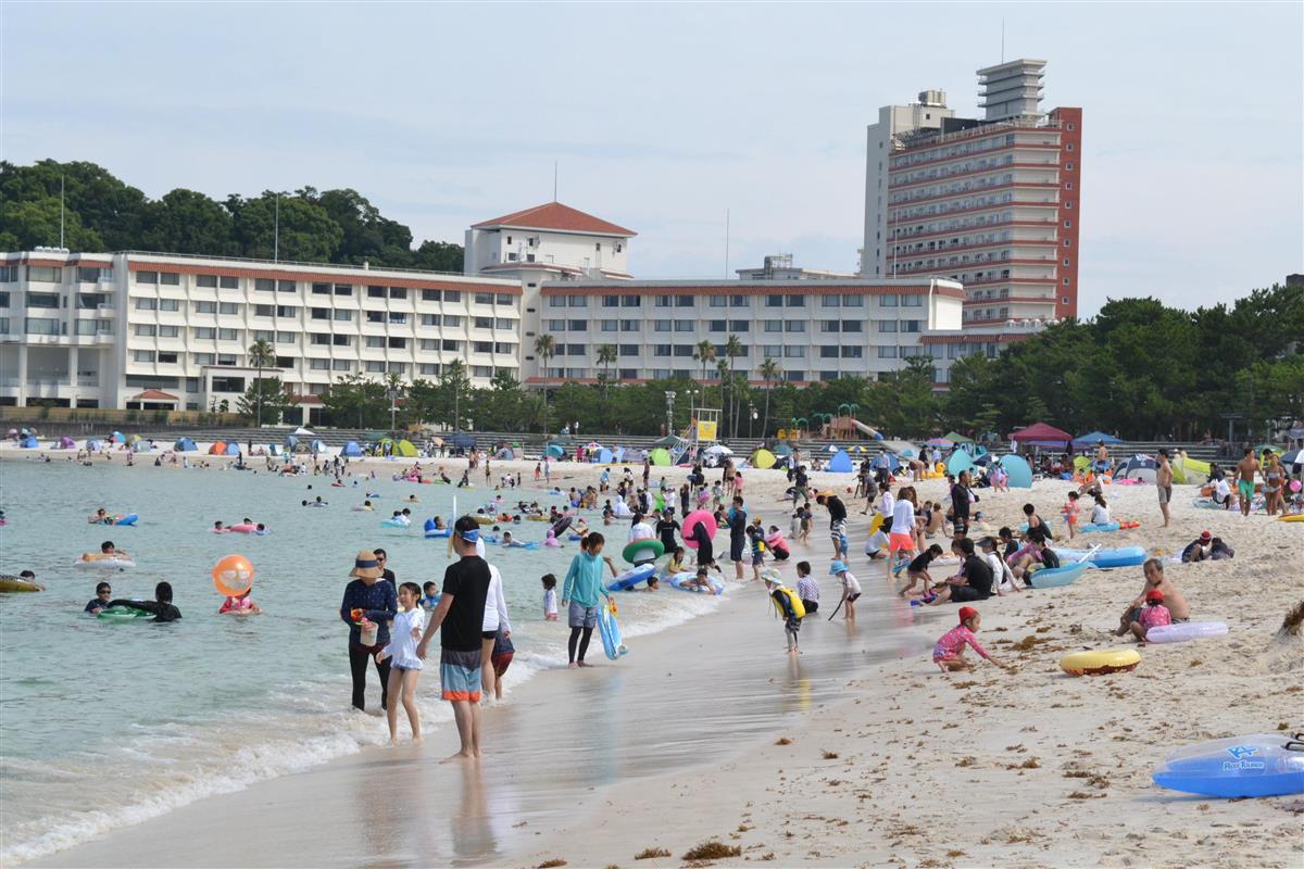 白浜温泉の宿泊客数、コロナで前年の4割減 和歌山(1/2ページ) - 産経ニュース