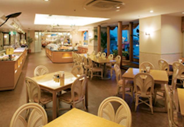 スパリゾート クアパーク レストランマリーゴールド