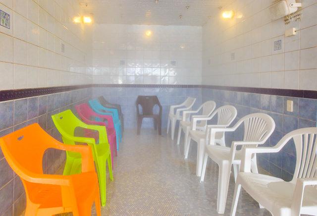 スパリゾート クアパーク ミストサウナ(蒸気浴)