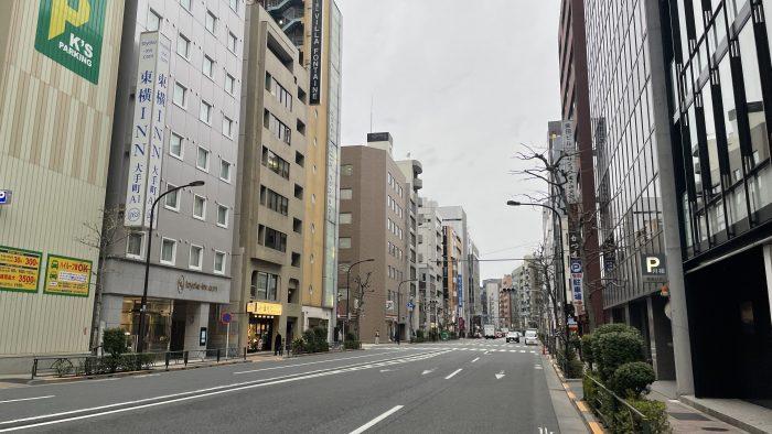 鎌倉橋から神田方面へ