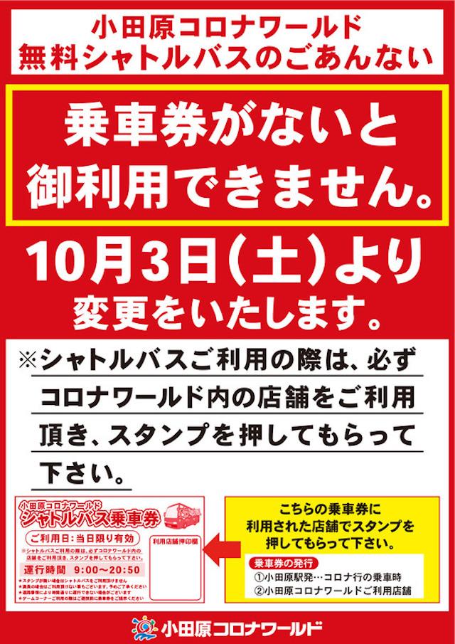天然温泉コロナの湯 小田原店 アクセス