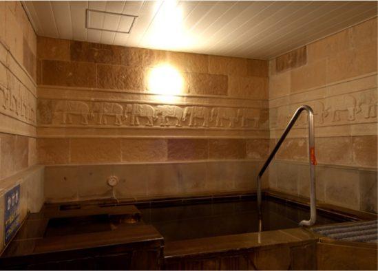 ゆの郷 水風呂