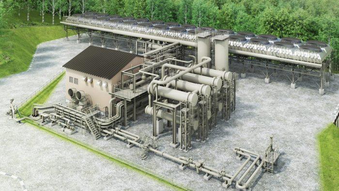 南茅部地熱発電所