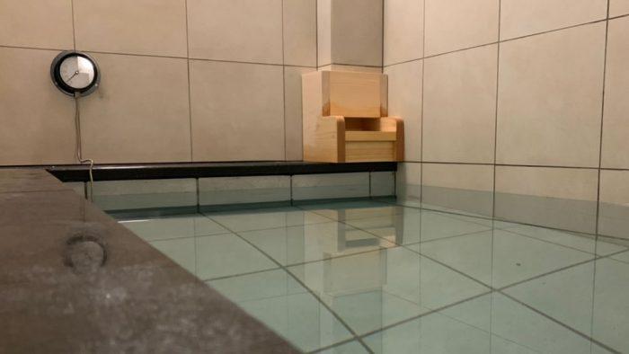 カプセルホテルだったら申し分ない水風呂:公式HP