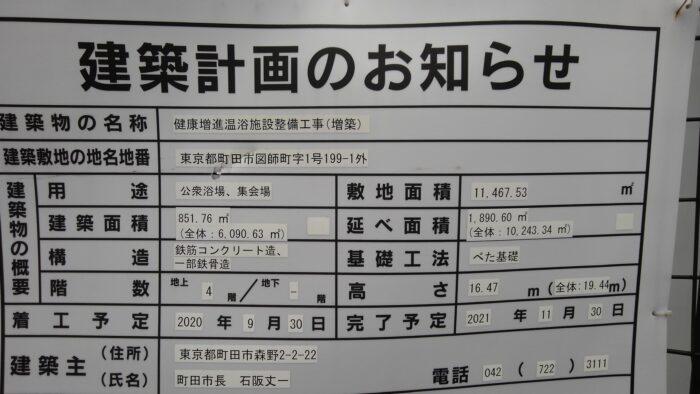 町田_建築計画看板