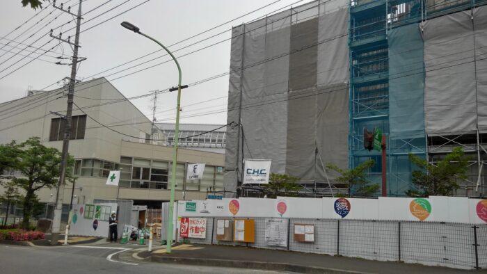 町田_建設中の温浴施設